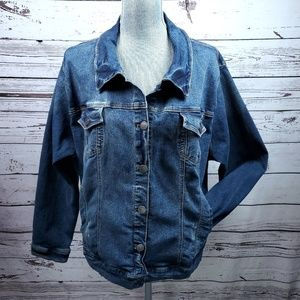 Torrid Womens Jean Jacket Excellent Condition 4